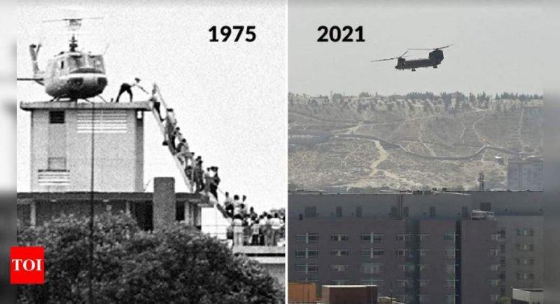 Saigon 1975 vs Kabul 2021